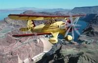 Gira Biplano de Las Vegas incluyendo la presa Hoover y el Lago Mead