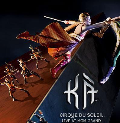Ka de Cirque du Soleil