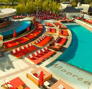 Moorea Beach Club piscina en Mandalay Bay