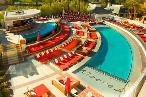 Moorea Beach Club piscina en Mandalay Bay