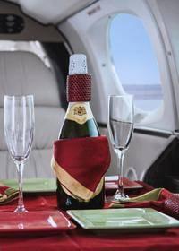 Vuelo panorámico en avión privado con cena