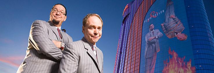 Penn y Teller en el Rio Hotel Las Vegas