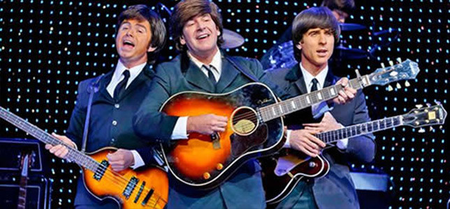Tributo a los Beatles dentro del Planet Hollywood Casino