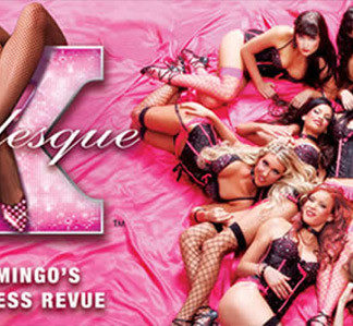 X - Burlesque topless show dentro del Flamingo