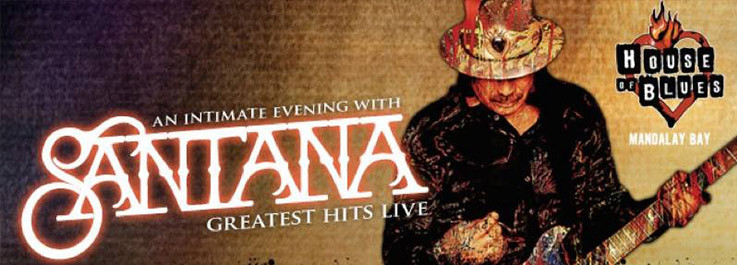 Santana en Las Vegas