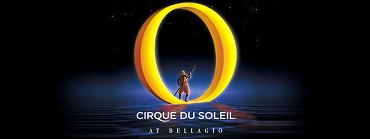 Show O de Cirque du Soleil dentro del Bellagio
