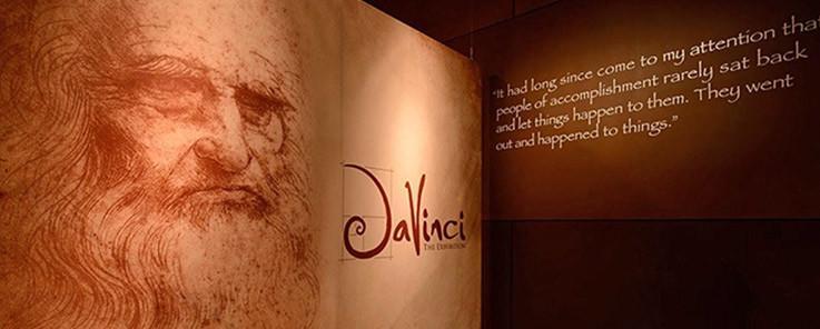 Exposición Da Vinci dentro del Venecia