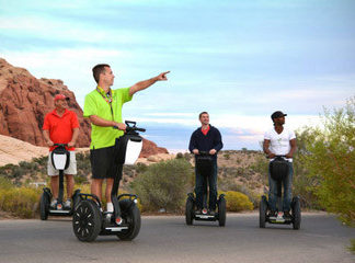 Tour al Red Rock en vehículo de transporte Segway