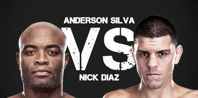 Anderson Silva vs. Nick Diaz pelea de UFC