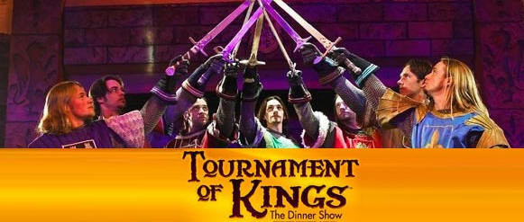 Tournament Of Kings dentro del Excalibur