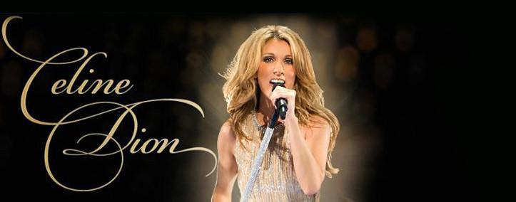 Celine Dion en concierto en Las Vegas