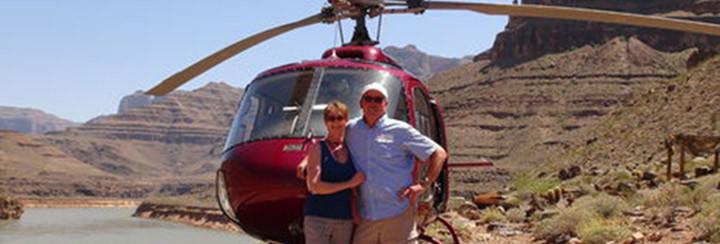 El Gran Cañon: Tour 4 en 1 en helicóptero
