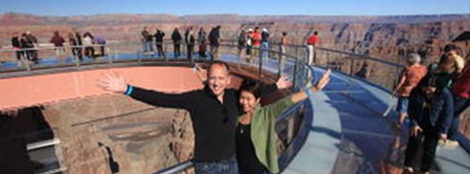 El Gran Cañón y la presa Hoover: Excursión desde Las Vegas con Skywalk opcional