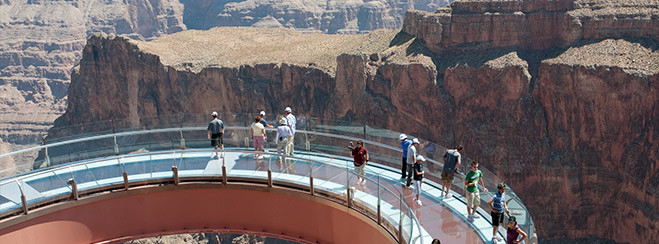 Excursion con skywalk del gran cañon