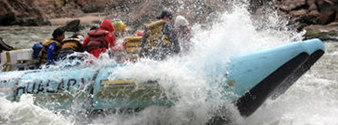 Excursion de un dia de rafting en el Grand Canyon