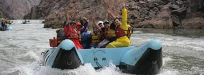 Excursión haciendo rafting por el Gran Cañón desde Las Vegas
