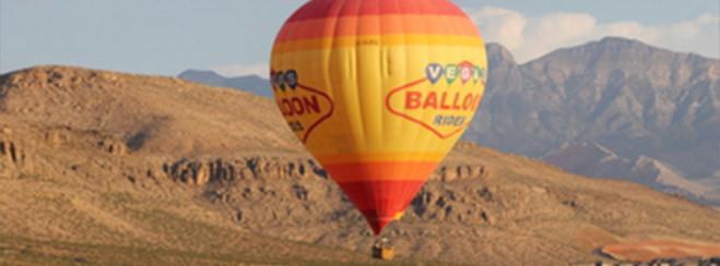Paseo en globo por Las Vegas al amanecer