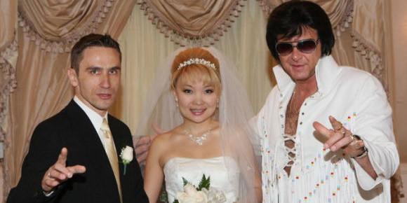 Boda tematica de Elvis en Las Vegas
