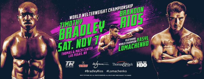 Tim Bradley vs Brandon Rios
