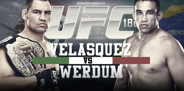 Fabricio Werdum vs. Cain Velasquez