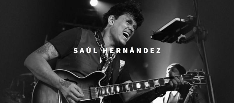 Saul Hernandez en Concierto