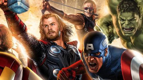 Atracción de Marvel Los Vengadores