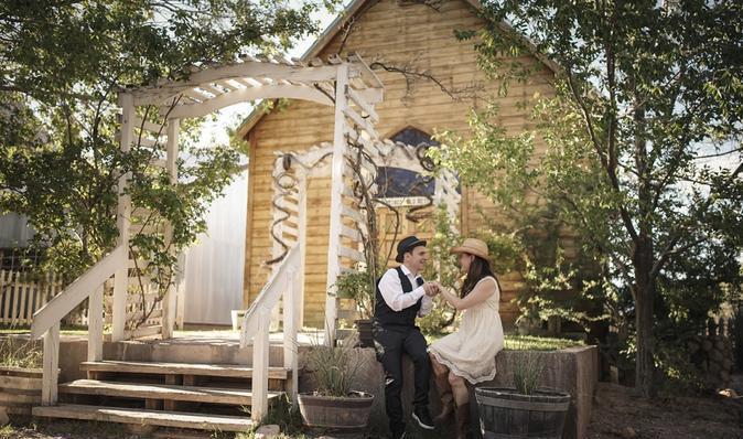 boda estilo western las vegas