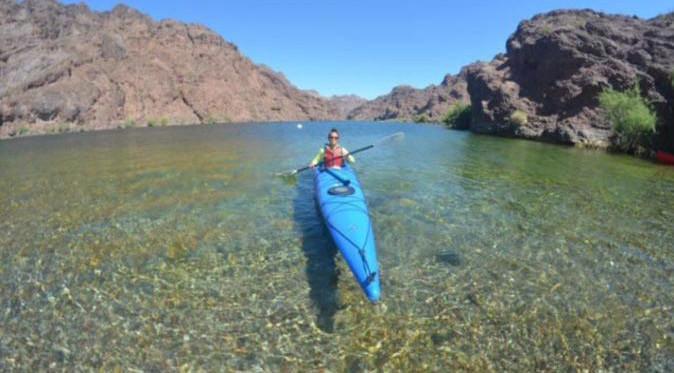 kayak tour en rio colorado desde las vegas