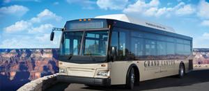 gran canon en autobus