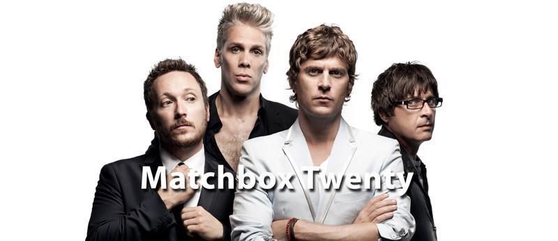 matchbox twenty en concierto