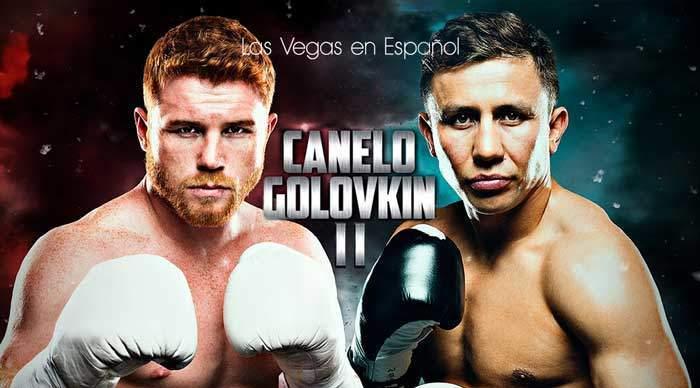 Boletos para Canelo vs GGG en Las Vegas 15 de Septiembre 2018