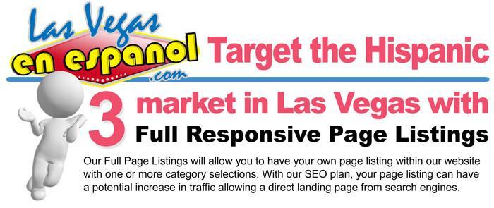 target the hispanic market in las vegas