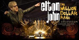 entradas para elton john en concierto en las vegas 2017