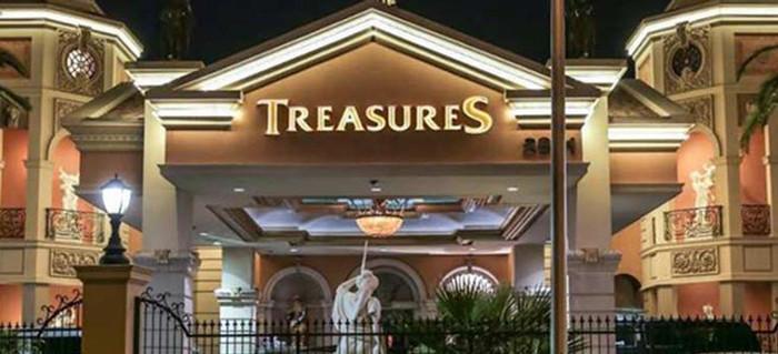 men club en las vegas treasures