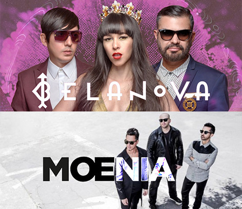 Belanova y Moenia en Las Vegas Noviembre 20 2017