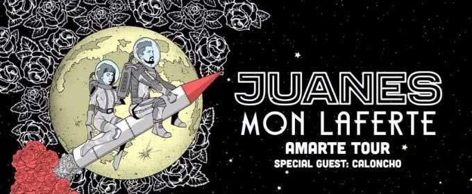 Juanes con Mon Laferte en concierto dentro de Palms Mayo 19 2018