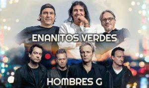 enanitos verdes y hombres g en concierto en las vegas junio 2