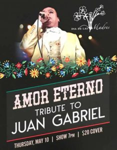 celebra el 10 de mayo en las vegas con tributo a juan gabriel