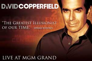 David Copperfield en Las Vegas