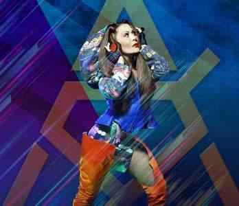 Alejandra Guzman en Las Vegas