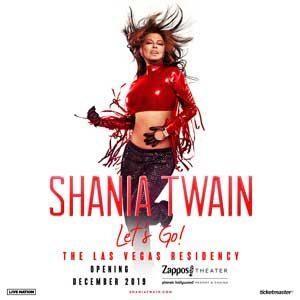 Shania Twain en Las Vegas