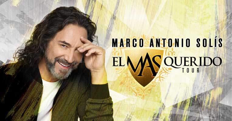 Marco Antonio Solis en Las Vegas 2021